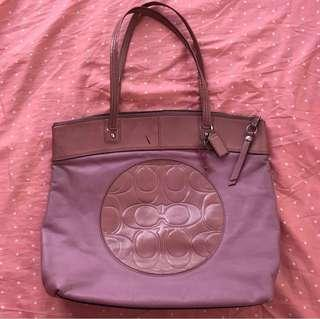 Coach Dusty Rose Bag (Class A)