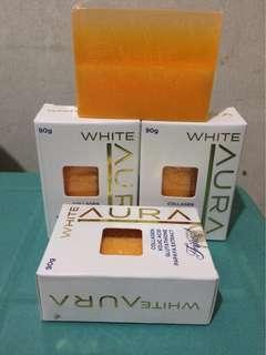 White aura soap
