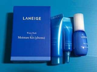 SALE Laneige Water Bank Moisture Kit (3 Items)
