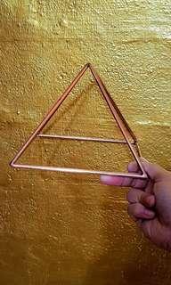 copper pyramid  7inch