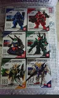 Gundam Converge #11 full set of 6