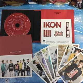 IKon The Return Red Version