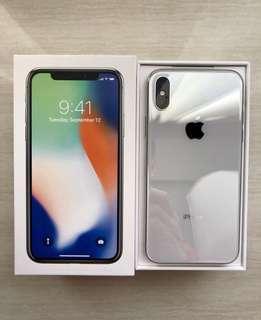 iPhone X 256GB Warranty until APRIL 2019