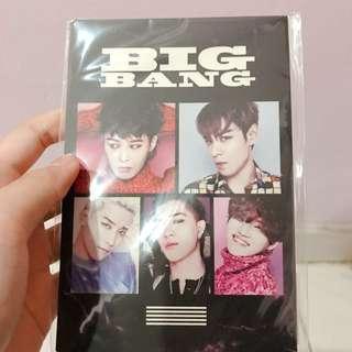 BIG BANG POST CARD SET