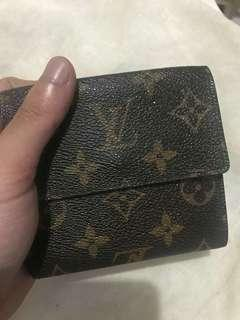 Louis vuitton wallet mono *preloved *rank AB *trifold wallet P7500