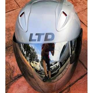 Silver LTD Helmet