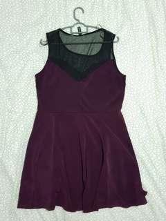 🚚 Burgundy Dress from Forever21