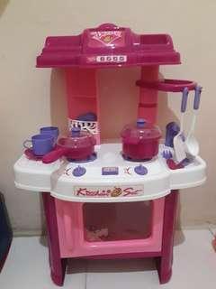 Kitchen set mainan anak anak