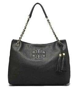🚚 Sales* Tory Burch Thea Black Leather Tote