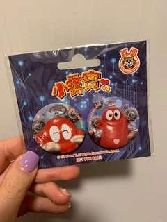 小露寶x荔園 badge set