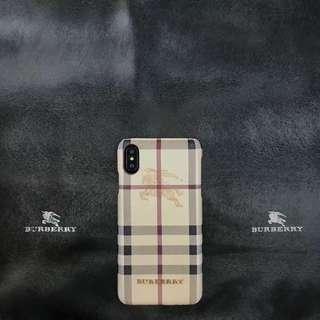 Burberry Classic Design Case 7/8 7P/8P X/XS Max