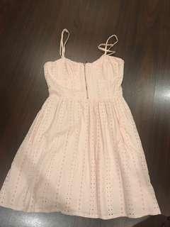 Light Pink Short Dress