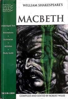 Macbeth - William Shakespeare's (Total Study Edition)