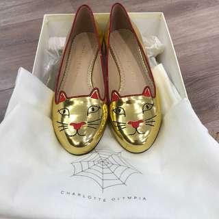 Charlotte Olympia 貓貓女鞋 35.5
