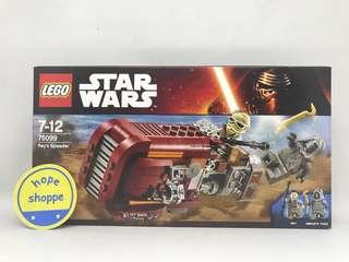 LEGO Star Wars - 75099 - Rey's Speeder BNIB Original Segel