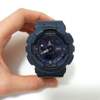 Casio Baby-G Ladies Watch (Denim Blue)