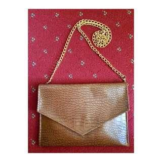 Sling bag leather from Jogja