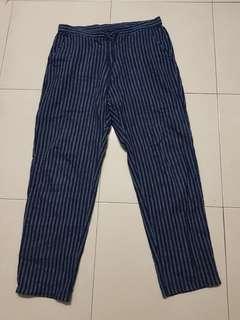 Stripe pants uniqlo