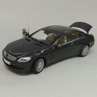 1:18 Benz CL-Class 合金模型