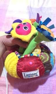 Lamaze flower with lights and sounds