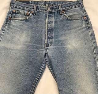 Levi's 501 W35 L36 超靚牛仔褲 Straight Jeans