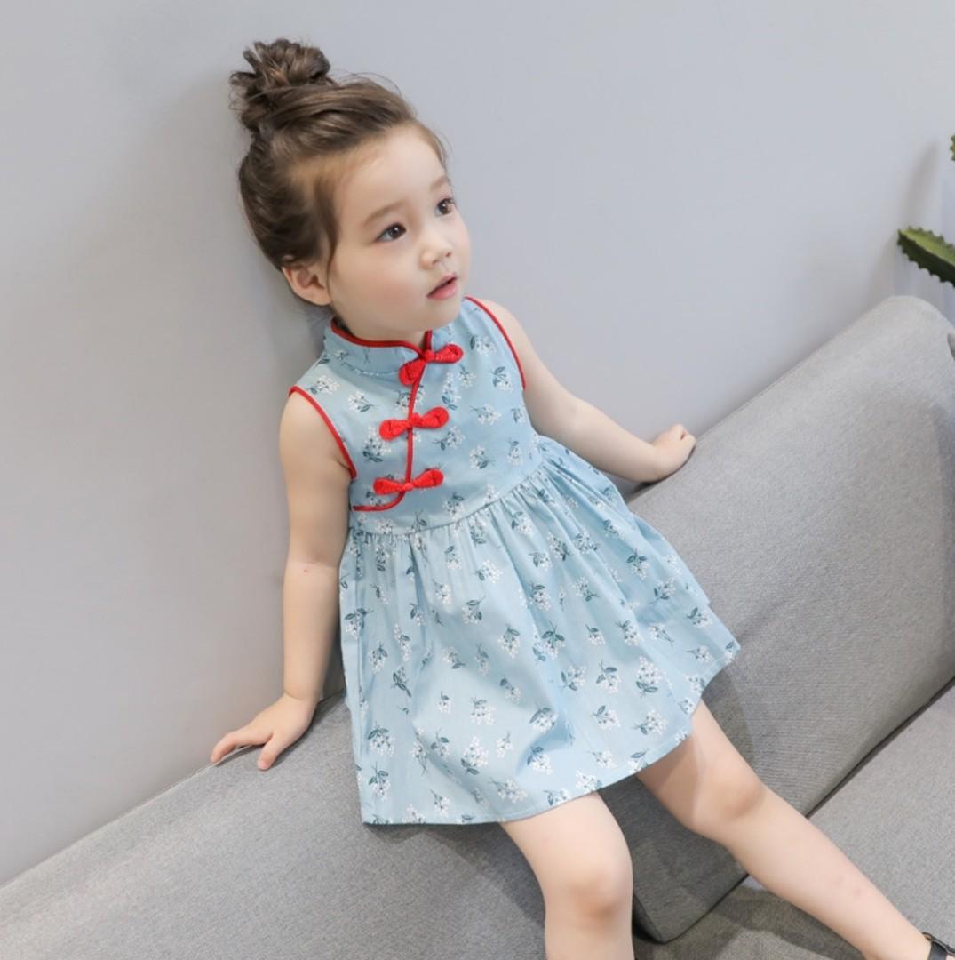 f1f0f87c6 Girls Cheongsam Chinese New Year Cny Floral Baby Red Blue Kid Cheong Sam Girl  Cheongsam Kids Cheong Sam Kid Cheongsam Kids Cheongsam Girl Cheong Sam Girls  ...