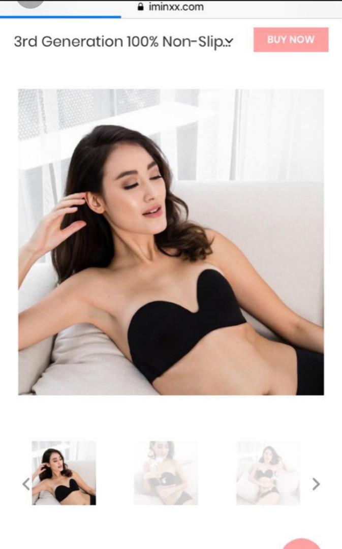 1d216774e5 34A 100% non-slip strapless bra