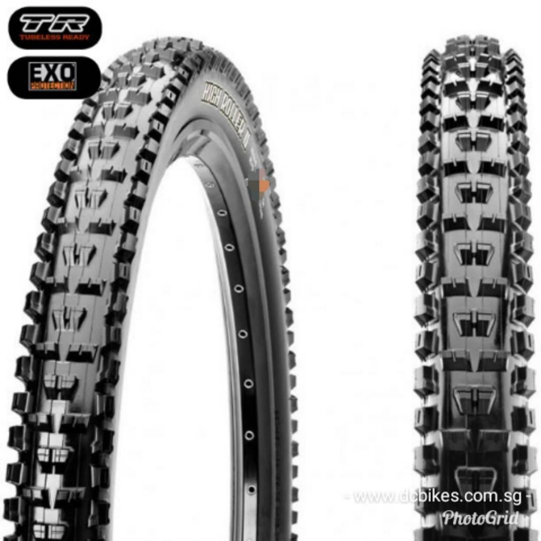 Maxxis High Roller II 29 x 2.3 EXO Tubeless Ready Tire 29er Folding