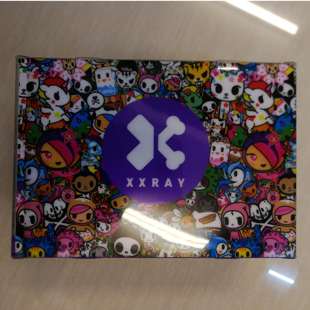 """Mighty Jaxx XXRAY Tokidoki 4/"""" SANDy CARINA Dissected Vinyl Art Figure"""