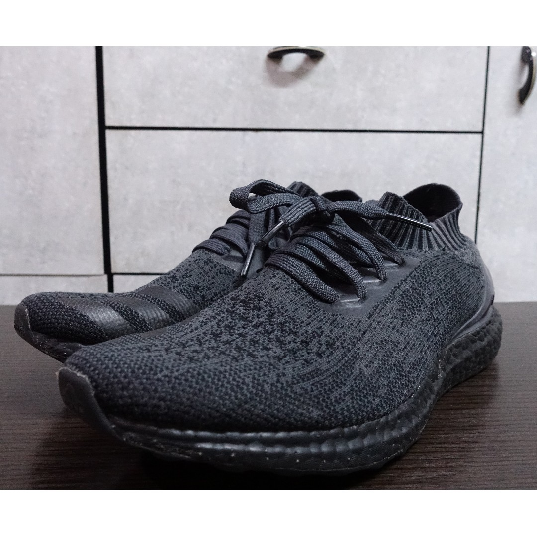 best authentic f3705 cee0c ADIDAS ULTRA BOOST UNCAGED TRIPLE BLACK US10 UK9.5 - BA7996