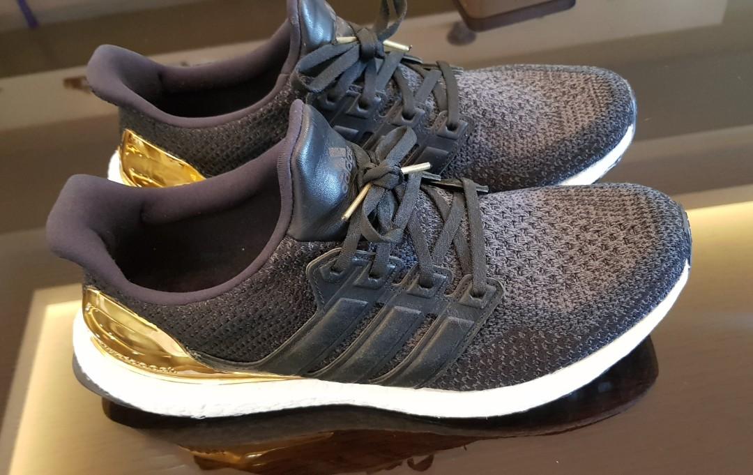 3237778ea Adidas Ultraboost Gold Medal Olympic Pack  CarousellSneakerFest ...