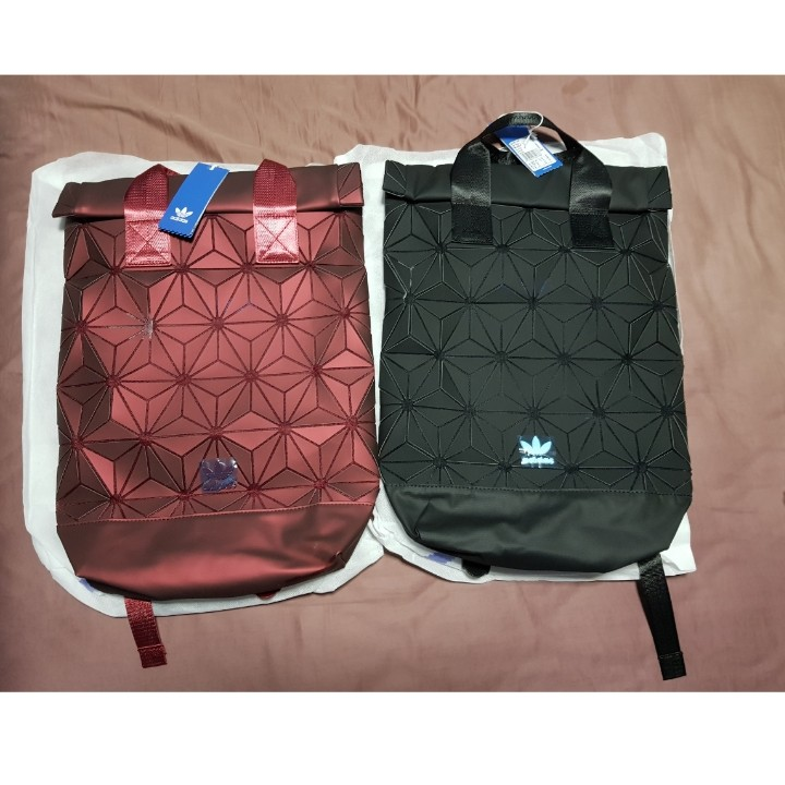 afd0a85186 Adidas X Issey Miyake Roll Top 3D Backpack