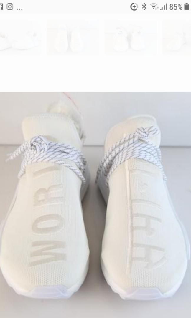 buy online f4a96 0d2b6 Adidas x Pharrell Human Race NMD Trail Holi 'Blank Canvas ...