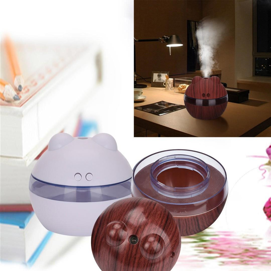 USB Aroma Diffuser Essential Oil - Air Humidifier 300ml (Bearila)