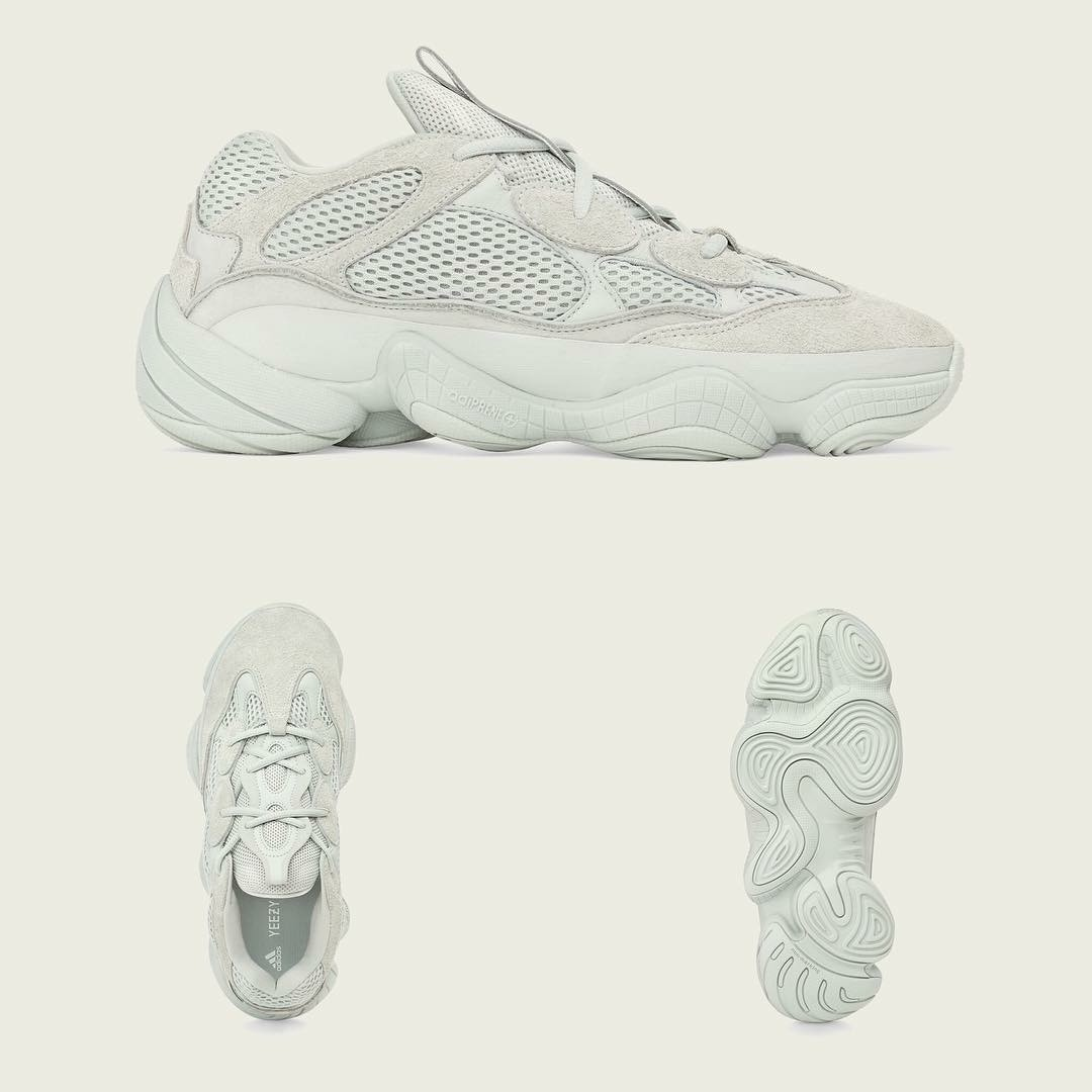 0d32431c9 Authentic Adidas Yeezy 500 Salt