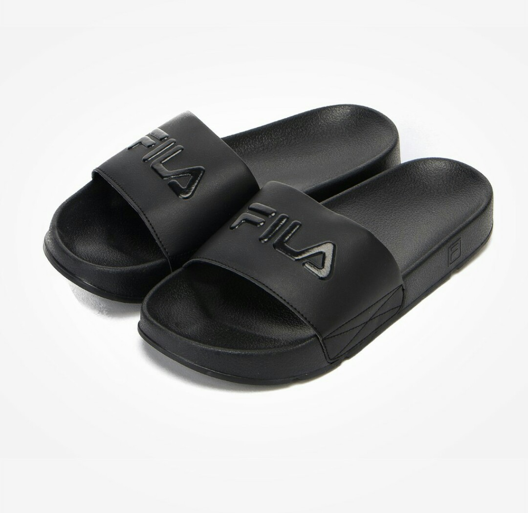 0c37a510b1819e ⚡Authentic FILA drifter slides black