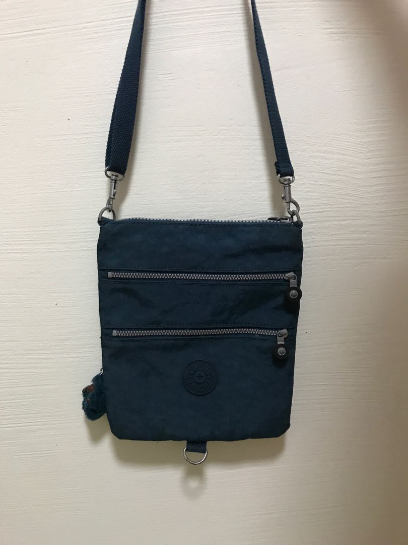 AUTHENTIC kipling triple zip crossbody bag