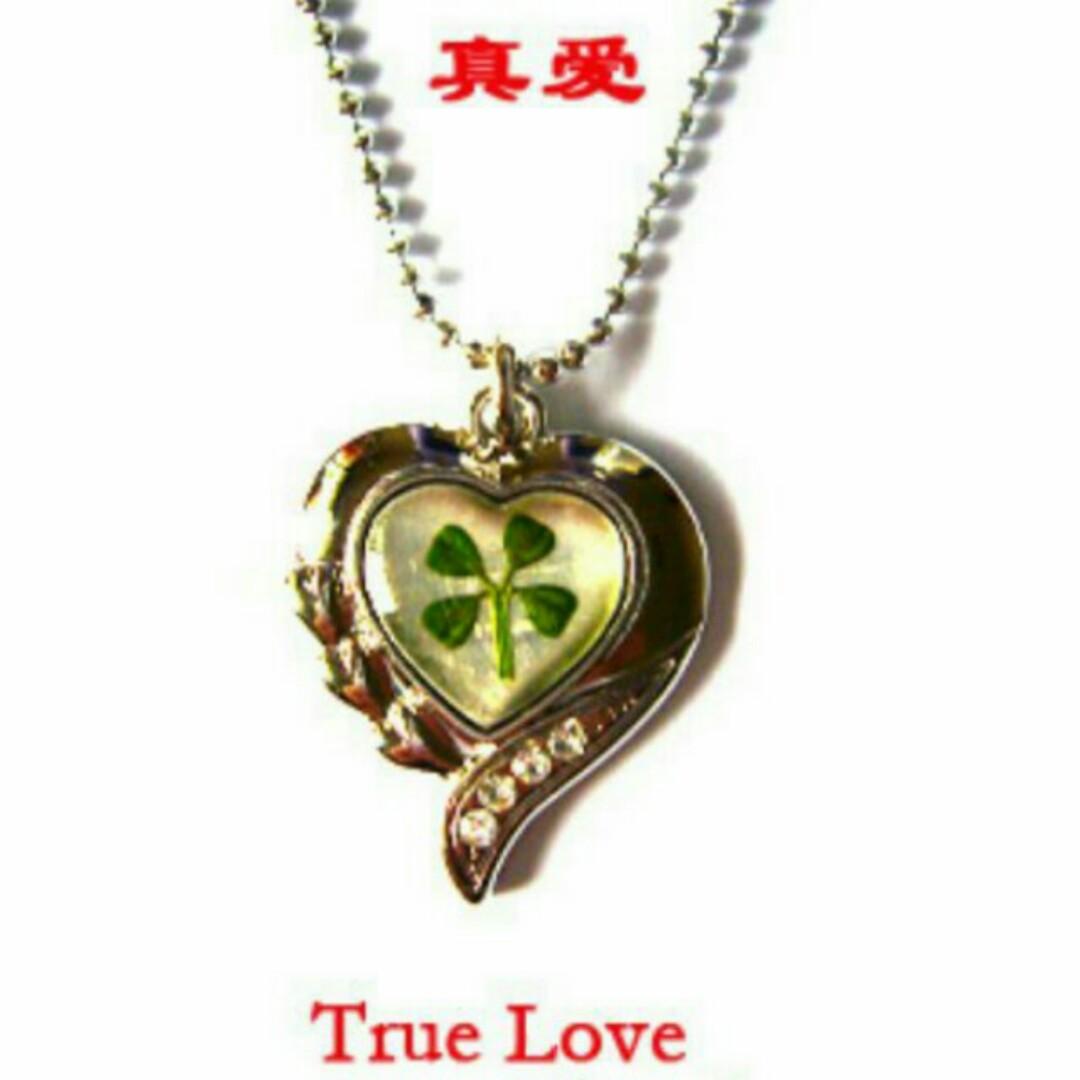 e8344aa647f468 Authentic Korea White Gold Plated Lucky Four Leaf Clover Pendant ...