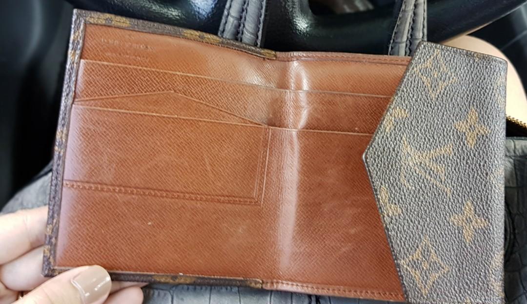 c30a7500bee3 Authentic Louis Vuitton Monogram Portefeiulle Elise Trifold Wallet ...