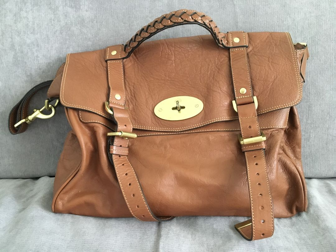 cf7a4b6aaf25 Authentic Mulberry Alexa Bag (Oversized )