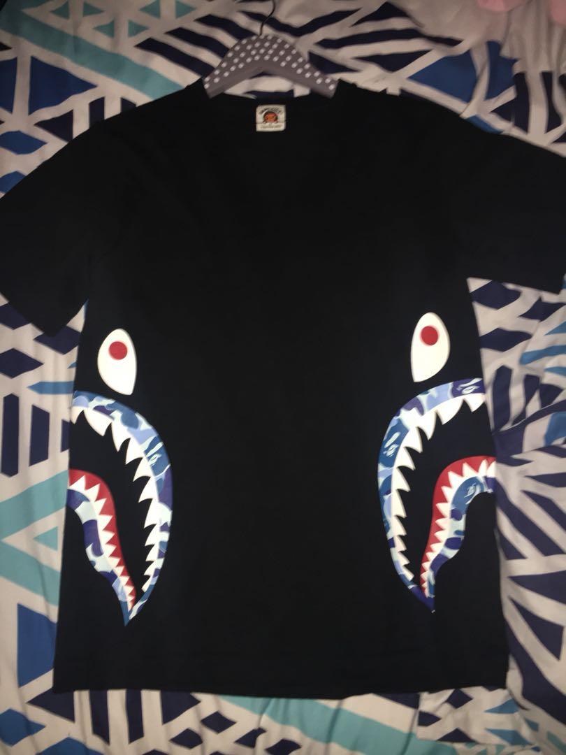 a850ae413 Bape T Shirt, Men's Fashion, Clothes, Tops on Carousell