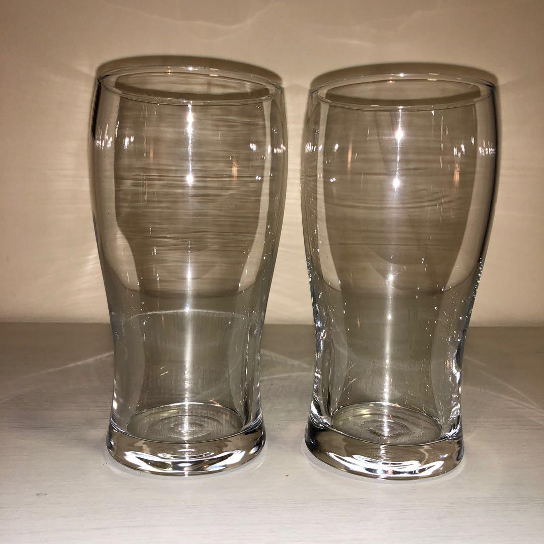 Beer Glasses Set Of 2 Ikea Lodrät Home Appliances Kitchenware