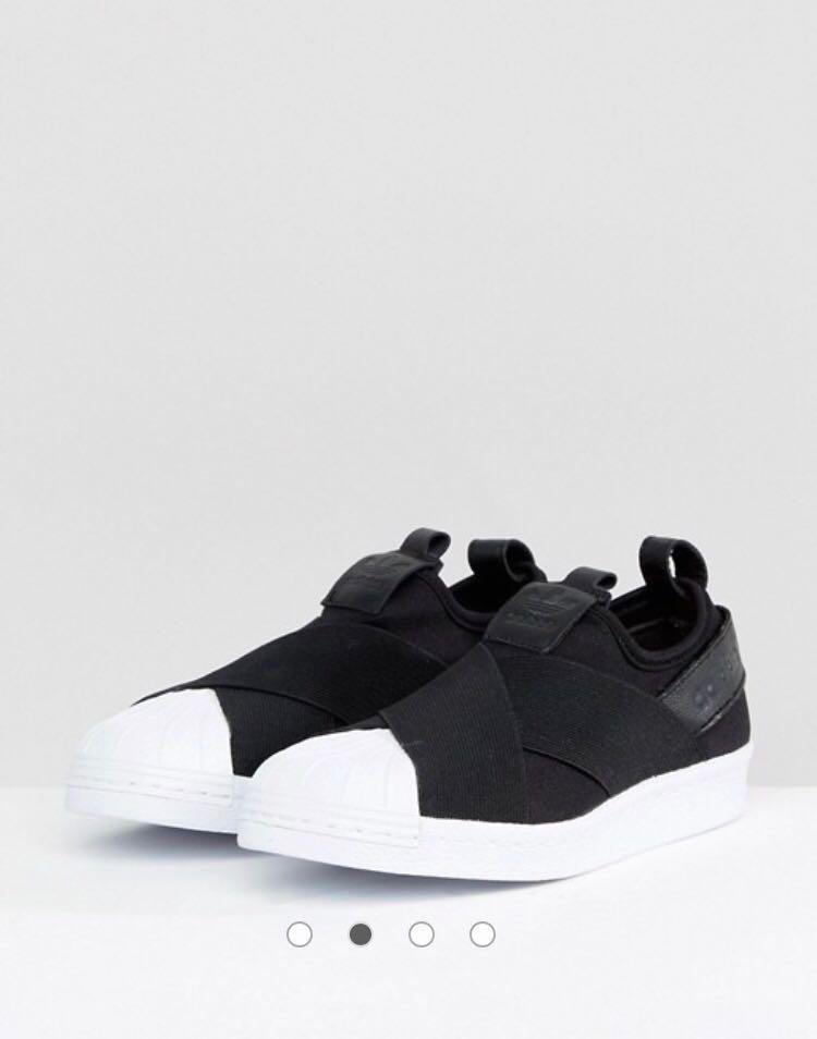 BNIB Authentic Adidas Originals Black Superstar