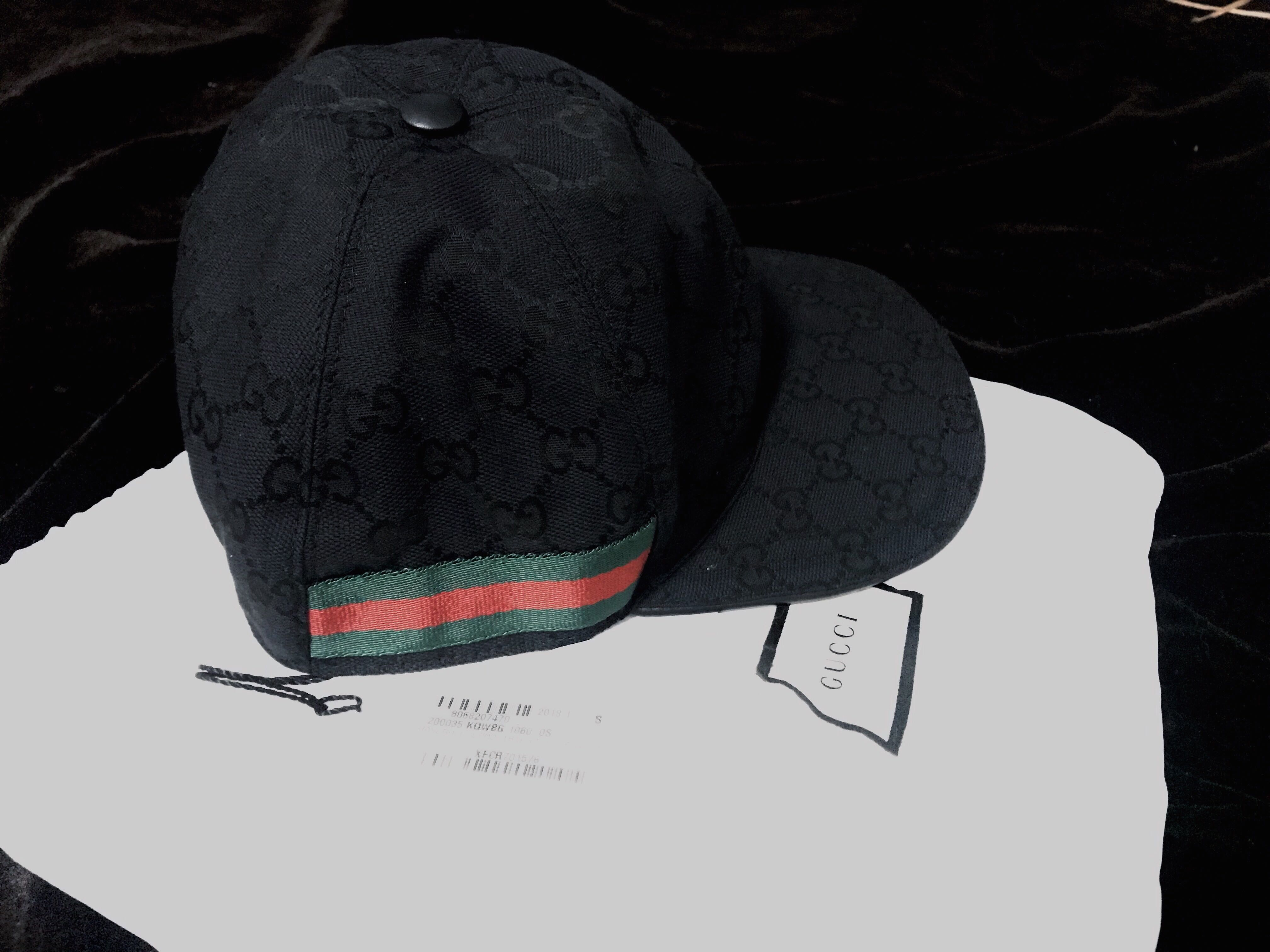 BRAND NEW AUTHENTIC Gucci Web Stripe Baseball Cap 4028ad700af