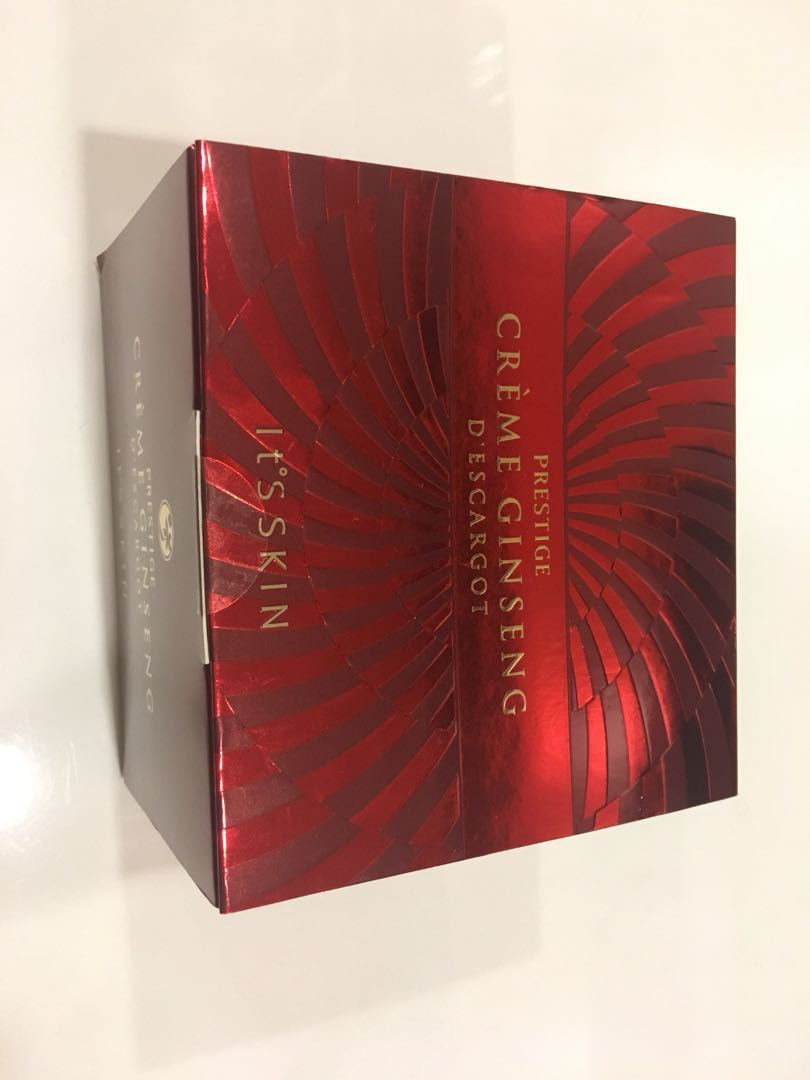 [brand new direct from Korea] It's Skin prestige Creme Ginseng D'escargot