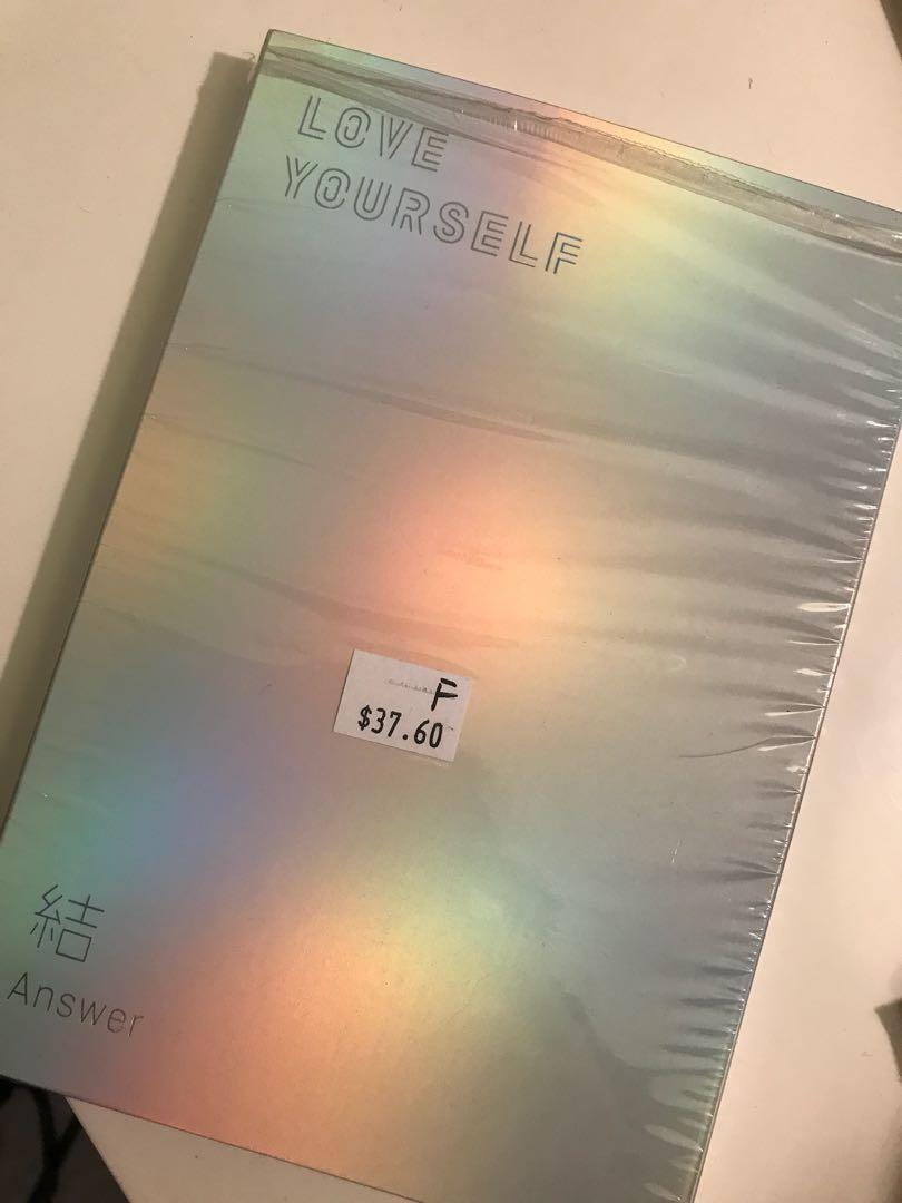 BTS LY: Answer + POSTER