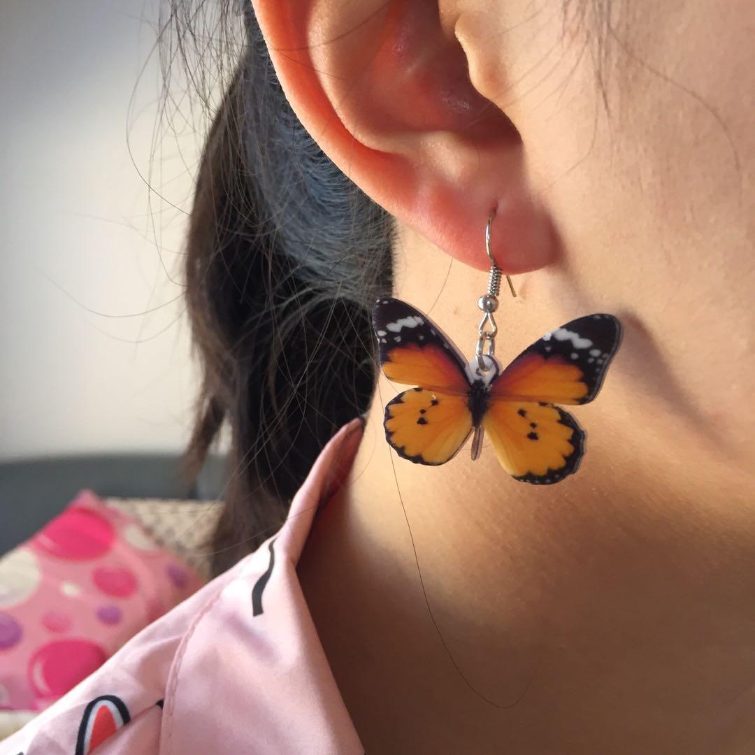 BUTTERFLY EARRINGS (Set 3)