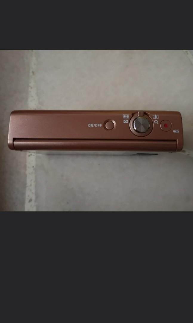 QYOP Casio Rose Gold Camera EX-ZR50