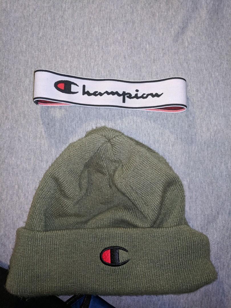 Champion winter hat with headband
