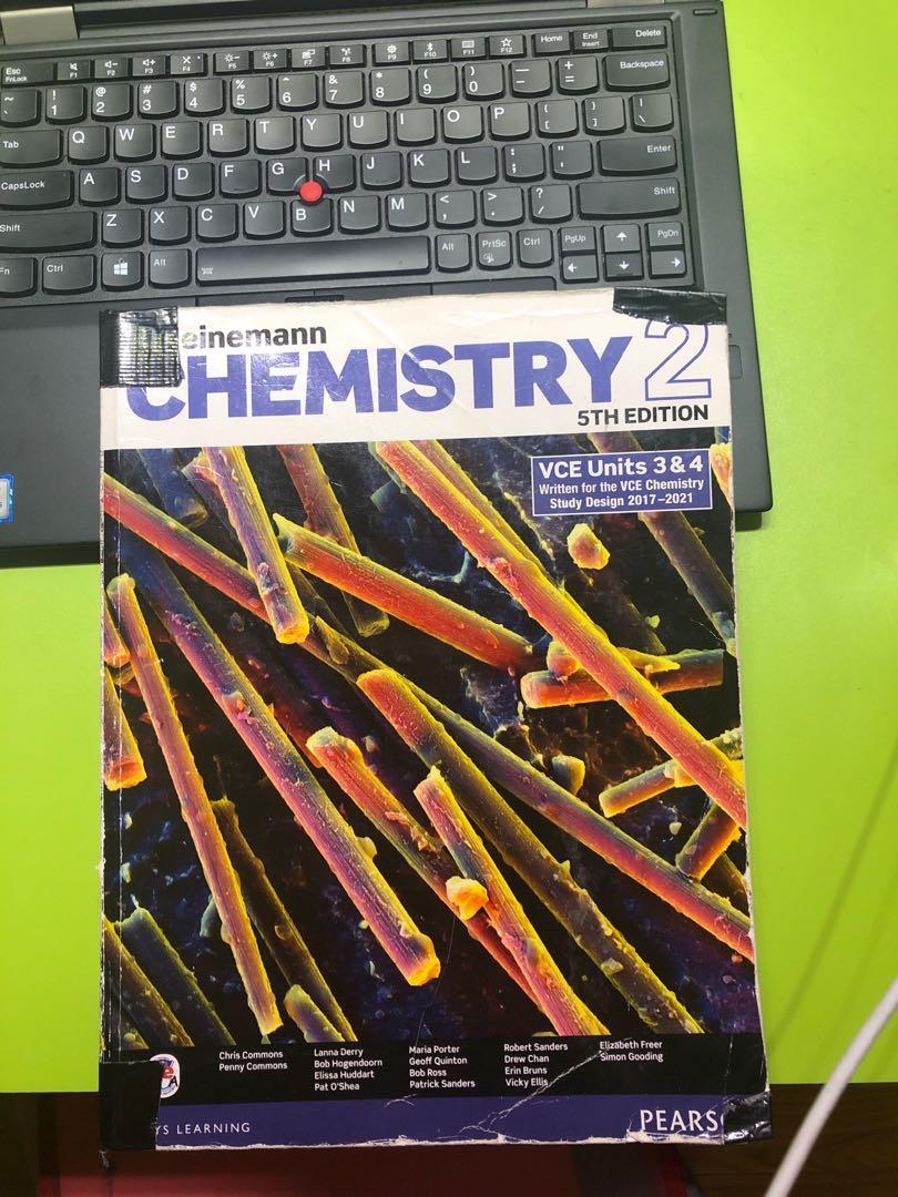 Chemistry Unit 3 and 4 Heinemen